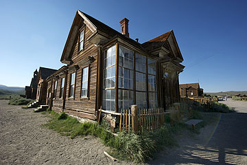 Bodie Ghost Town, California, photo courtesy of Frederick Phillips