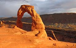 Arches National Park vistas