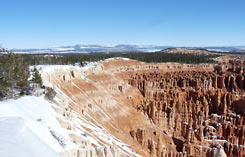 Bryce Canyon winter nature walks