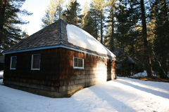 Oregon winter tour cabins