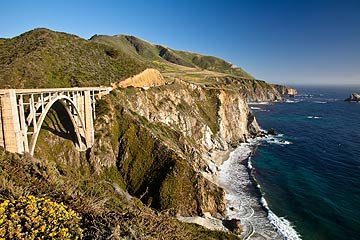 Scenic Highway 1 along the Pacific - Cabrillo Highway