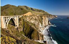 California Pacific Coast tour
