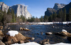 Yosemite Valley and the Merced River