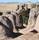 Rock Formations, City of Rocks
