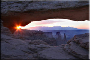 Mesa Arch, Canyon Lands