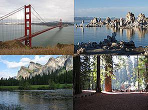 Sierra Nevada Trails collage