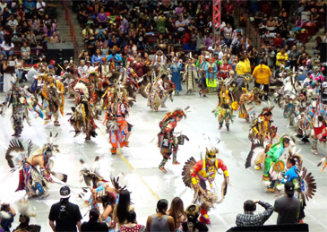 Gathering of Nations, Powwow in Albuquerque