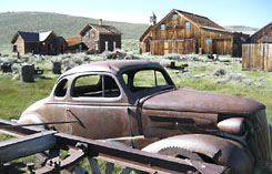 Bodie Ghost Town, California tour