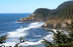 Pacific Northwest tour along the Oregon coast