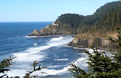Pacific Northwest tour along the Oregon coast
