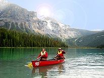 Emerald Lake Canoeing