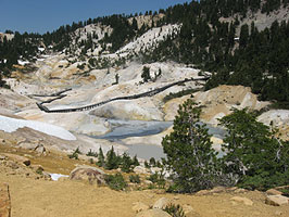 Lassen Volcanic National Park hiking trails