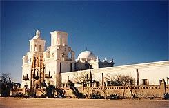 Mission San Xavier del Bac near Tucson