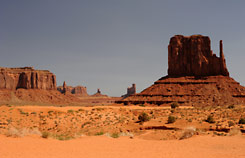 Monument Valley vistas, Grand Circle tour