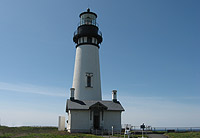 Yaquina light house, Oregon coast tour