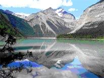 Mt. Robson and Kinney Lake