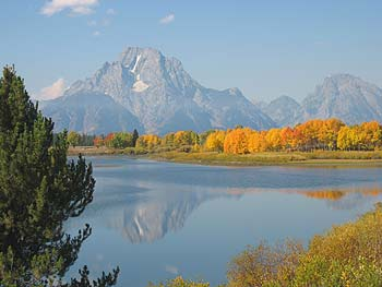 Grand Teton National Park with Snake River