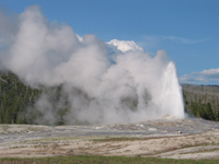Tours of Yellowstone - Old Faithful Geyser